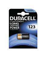 Batterij DL123A / CR123A / EL123A van Duracell
