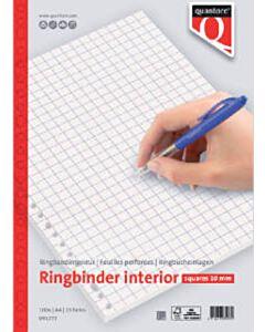Ringbandinterieur Quantore A4 23-gaats ruit 10 mm 100 vel