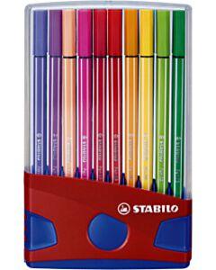 Stabilo pen 68 ColorParade viltstiften 20 kleuren