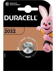 Duracell DL2032 / CR2032 knoopcel batterij