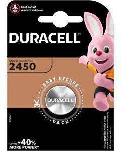 Duracell DL2450 / CR2450 knoopcel batterij