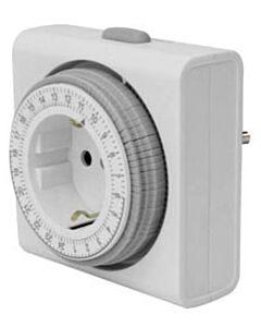 Compacte 24-uur tijdschakelaar Perel E305D4-G
