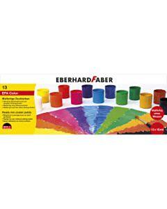 Verfset 13 potjes kant en klaar Eberhard Faber