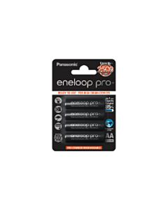 Panasonic Eneloop Pro AA batterijen (4)