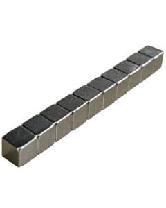 10 Neodymium kubusmagneten 5 mm N42