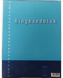Ringbandblok A4 23-gaats gelinieerd 100 vel