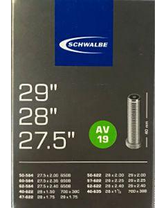 Schwalbe fiets binnenband 27.5/28/29 inch AV