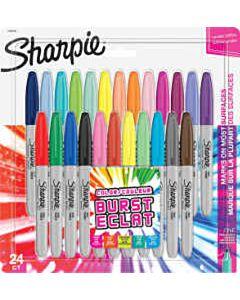 Sharpie Color Burst vilstiften set 24 kleuren