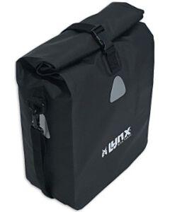 Enkele tarpaulin fietstas Lynx 21L zwart